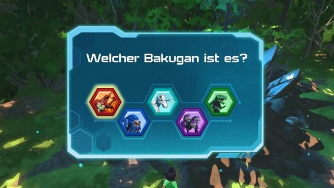 Dieses Bild zeigt die Wahl eures ersten Bakugan