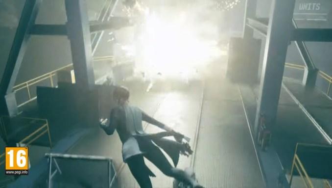 """Das Bild zeigt eine actionreiche Szene aus """"Control Ultimate Edition"""". (Cloud-Gaming)"""
