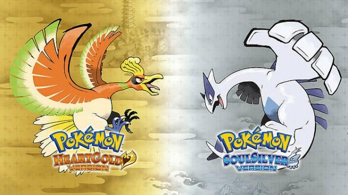 """Das Bild zeigt das potenziell in der """"Pokémon Super Collection"""" enthaltenen Titel """"Pokémon Soulsilver/Heartgold""""."""