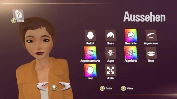 """Das Bild zeigt die Charaktergestalltung in dem Spiel """"My Universe: Fashion Boutique""""."""