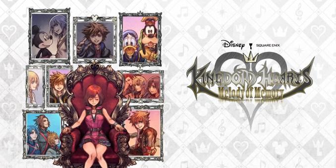 """Das Bild zeigt das Artwork zu """"Kingdom Hearts: Melody of Memory""""."""