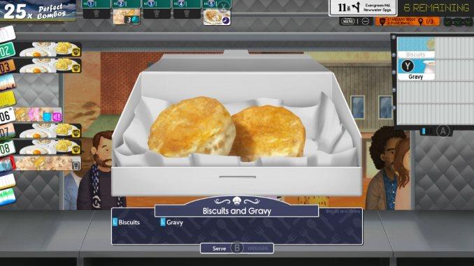 """Das Bild zeigt eine Box mit Biscuits in dem Spiel """"Cook, Serve, Delicious! 3?!""""."""