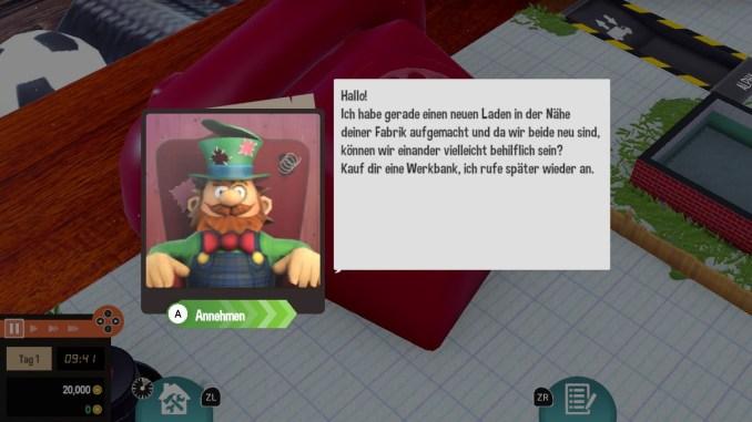 """Das Bild zeigt einen Charakter aus dem Spiel """"Little Big Workshop"""". Er trägt den Namen Crazy Steve."""