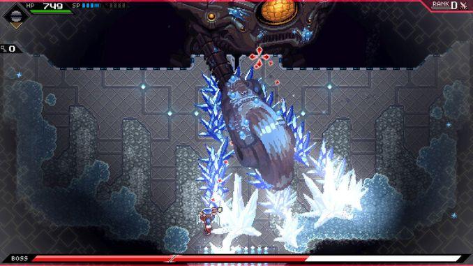 """Das Bild zeigt einen Entgegner aus dem Spiel """"CrossCode""""."""