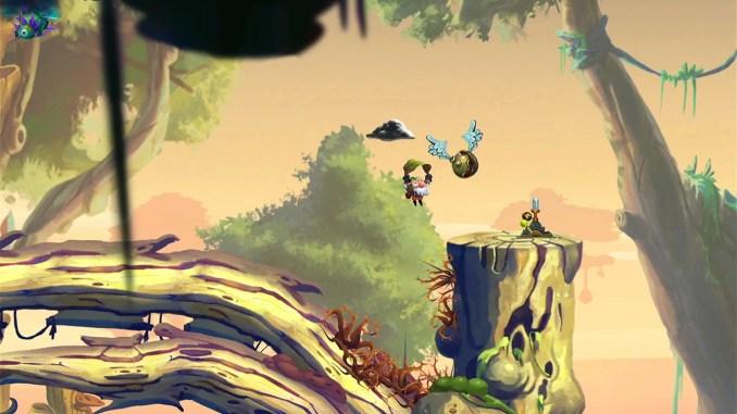 """Das Bild zeigt eine Platform-Einlage in """"Nubarron: The Adventure of an Unlucky Gnome""""."""