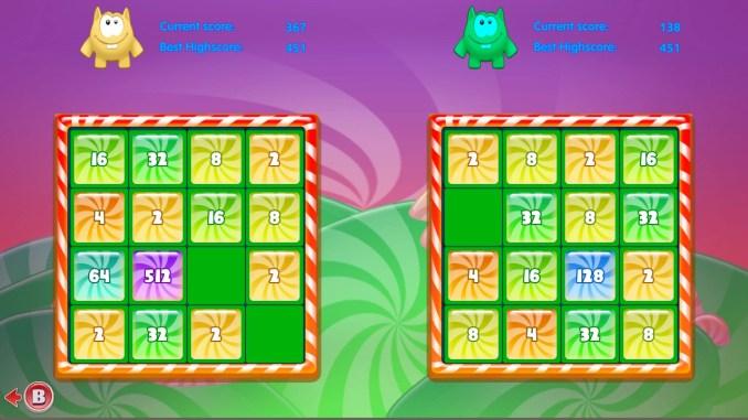 """Das Bild zeigt eine Szene aus dem Spiel """"Super Puzzle Pack""""."""