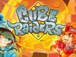 """Das Bild zeigt das Logo von """"Cube Raiders""""."""