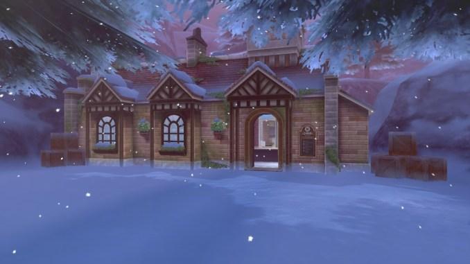 Am Kronenbahnhof startet euer Abenteuer in das zweite Pokémon Schwert & Schild DLC: Die Schneelande der Krone.