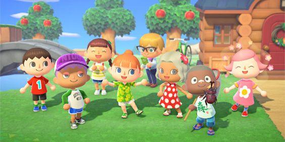 """Das Bild zeigt die Bewohner aus """"Animal Crossing: New Horizons""""."""