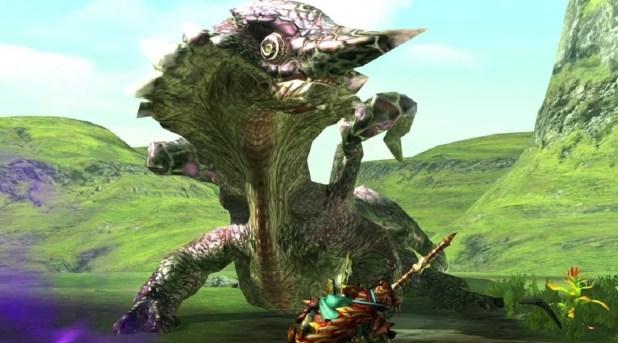 """Das Bild zeigt ein Monster, welches unter anderem auch in """"Monster Hunter Rise"""" vermutlich vorkommen wird."""