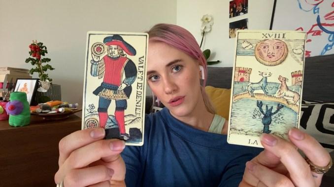 """Das Bild zeigt eine Szene aus dem Spiel """"Five Dates""""."""