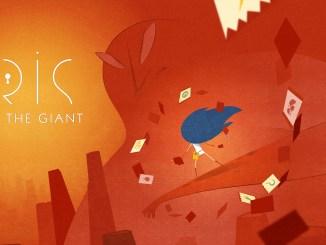 """Das Bild zeigt das Logo von """"Iris and the Giant""""."""