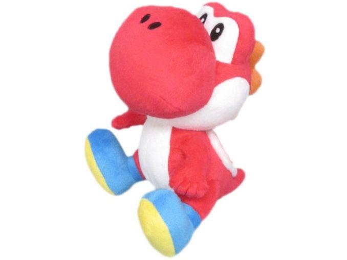 Das Bild zeigt ein Nintendo-Merch Yoshi-Plushee, welches von Lidl vertrieben wird.