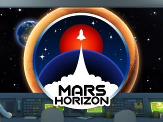 """Das Bild zeigt das Logo von """"Mars Horizon""""."""