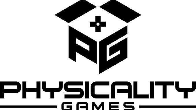 Das Bild zeigt das Logo von Physicality Games.