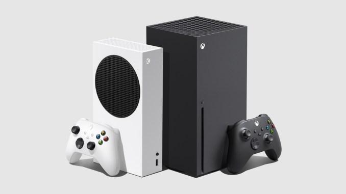 Das Bild zeigt die beiden Series X Modelle von Microsoft.