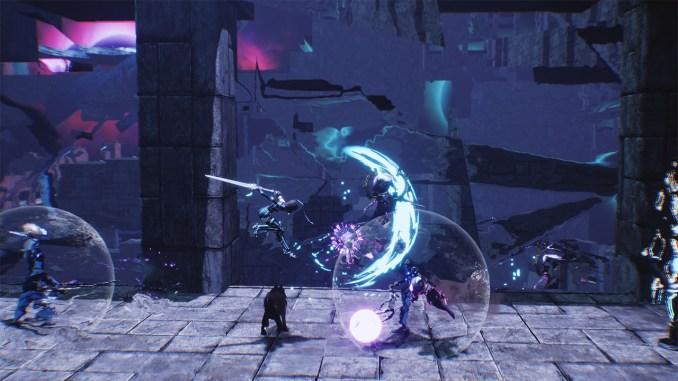 """Das Bild zeigt eine Szene aus dem Spiel """"AeternoBlade II""""."""
