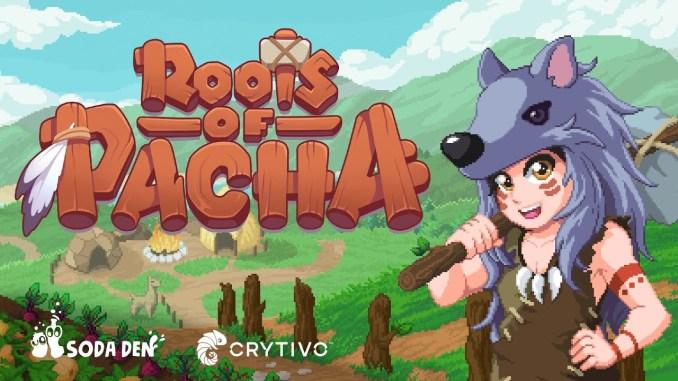 """Das Bild zeigt das Logo von """"Roots of Pacha""""."""