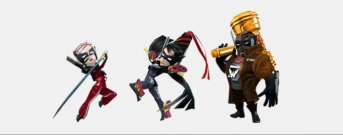 Das Bild zeigt die Bonus-Charaktere, die per Code freigeschaltet werden können.
