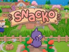 """Das Bild zeigt das Logo von """"Snacko""""."""