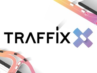 """Das Bil zeigt das Logo von """"Traffix""""."""