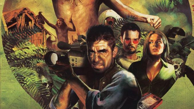 """Das bild zeigt die Hauptfiguren in Borneo aus dem Spiel """"Borneo: A Jungle Nightmare"""""""