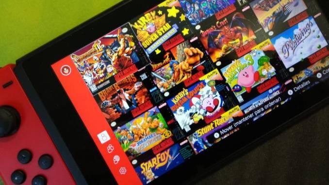 Das Bild zeigt die Spieleauswahl vom SNES aus dem Angebot des Nintendo Switch Online Dienstes