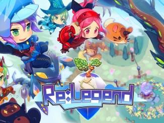 """Das Bild zeigt das Logo von """"Re:Legend""""."""