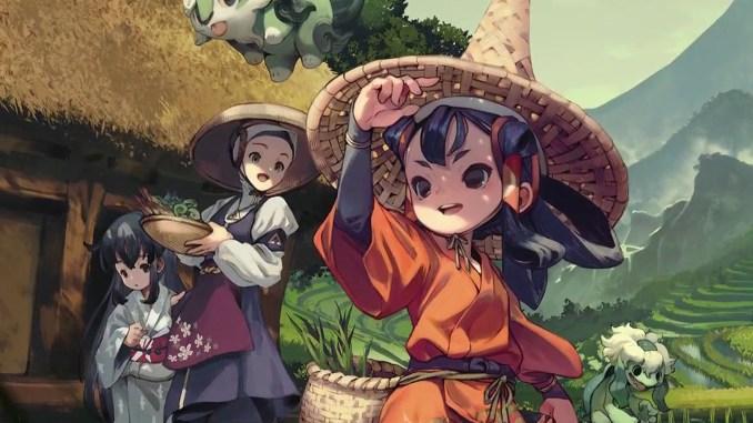 """Das Bild zeigt in Artwork von """"Sakuna: Of Rice and Ruin"""""""