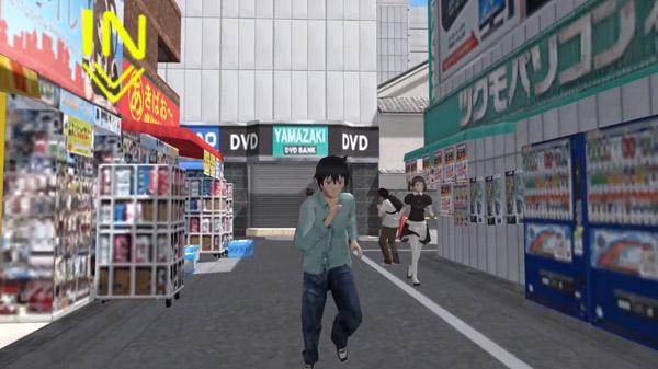 """Das Bild zeigt eine SUene aus dem Spiel """"Akiba's Trip: Hellbound & Debriefed""""."""