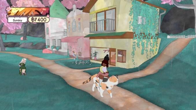 """Das Bild zeigt eine Szene aus dem Spiel """"Calico""""."""