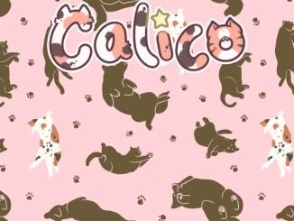 """Das Bild zeigt das Logo des Spieles """"Calico""""."""