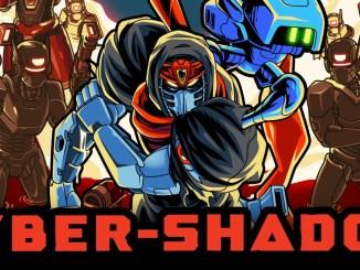 """Das Bild zeigt das Logo des Spiels """"Cyber Shadow""""."""