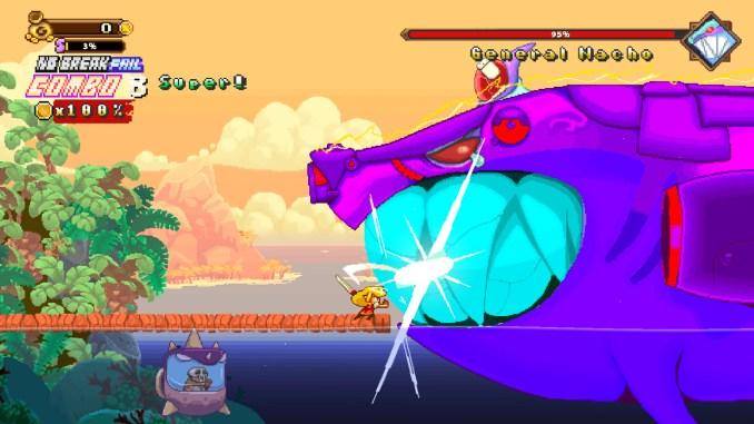 """Das Bild zeigt eine Szene aus dem Spiel """"Golden Force""""."""