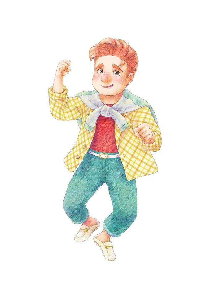 """Das Bild zeigt einen Charakter aus dem Spiel """"STORY OF SEASONS: Pioneers of Olive Town""""."""