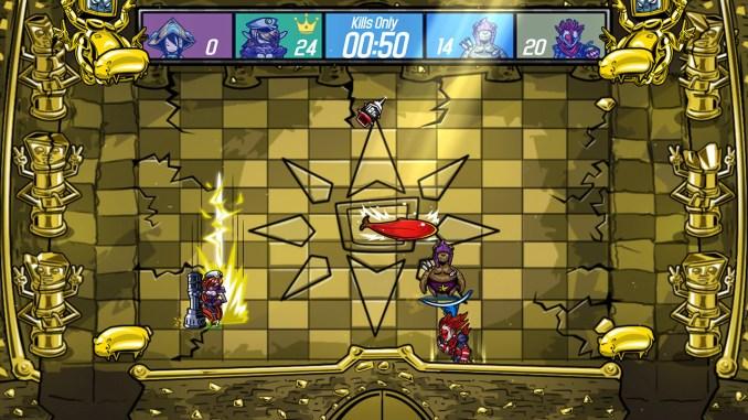 """Das Bild zeigt eine Szene aus dem Spiel """"Get Over Here""""."""