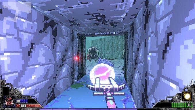 """Das Bild zeigt eine Szene aus dem Spiel """"Project Warlock""""."""