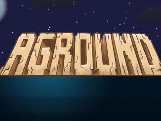 """Das Bild zeigt das Logo des Spiel """"Aground""""."""
