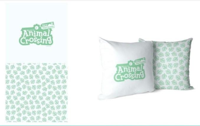Das Bild zeigt Kissenbezüge einer neuen Kollektion im Animal Crossing-Stil von Zavvi.