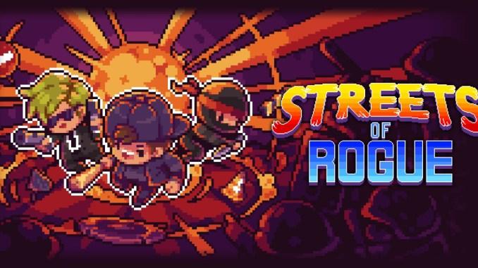 """Das Bild zeigt das Logo von """"Streets of Rogue""""."""