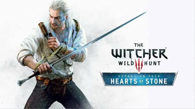 """Das Bild zeigt die Keyart zur ersten Erweiterung von """"The Witcher 3: Wild Hunt""""."""