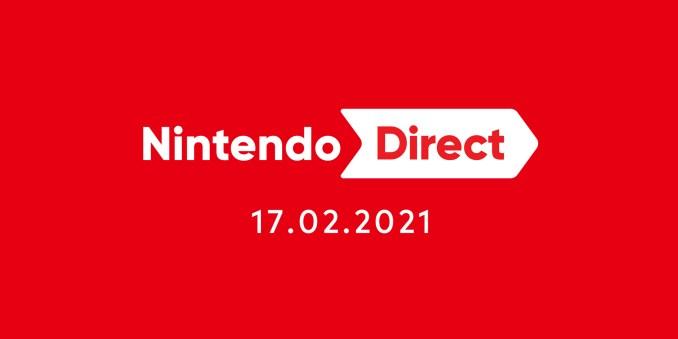 Das Bild zeigt das Datum der heutigen Nintendo Direct.