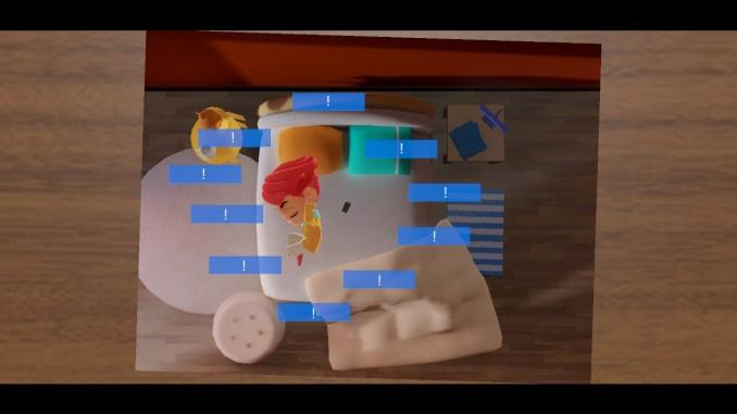"""Das Bild zeigt eine Szene aus dem Spiel """"A Fold Apart""""."""