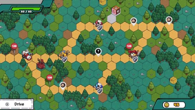 """Das Bild zeigt eine Szene aus dem Spiel """"ConnecTank""""."""