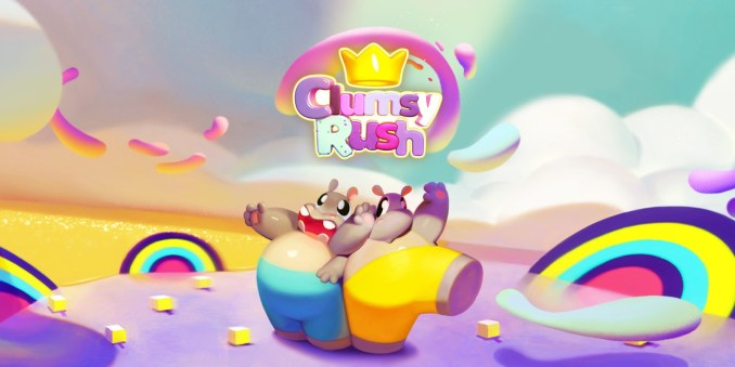 Auf dem Bild sieht man die Charaktere aus dem Spiel Clumsy Rush