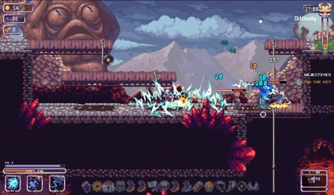 """Das Bild zeigt unterschiedliche Attacken aus""""Kingdom Gun"""""""