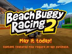 """Das Bild zeigt das Logo von """"Beach Buggy Racing 2: Island Adventure""""."""