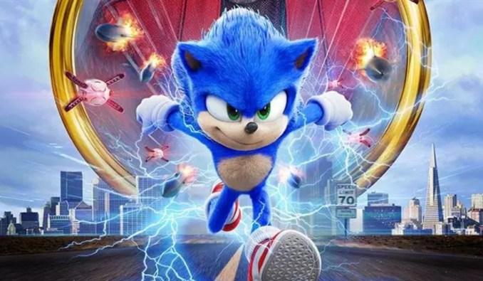 Das Bild zeigt die Keyart des ersten Sonic-Animationsfilms.