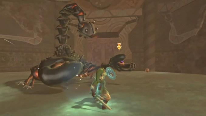 """Das Bild zeigt eine Szene aus """"The Legend of Zelda: Skyward Sword HD""""."""