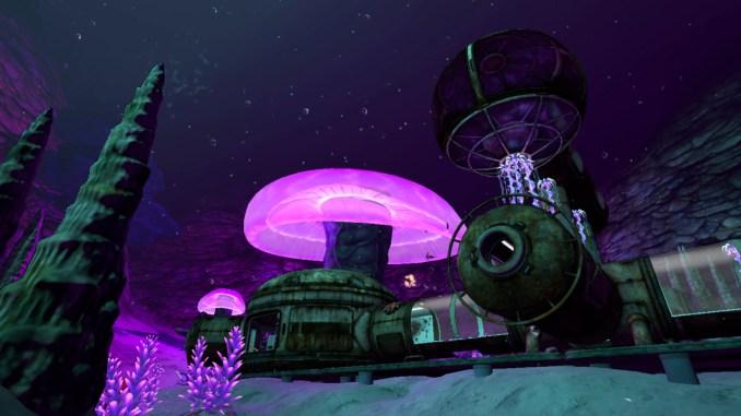 """Das Bild zeigt eine Szene aus dem Spiel """"Subnautica""""."""